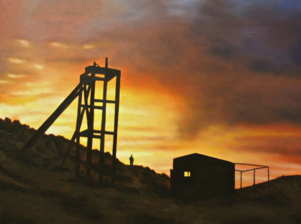 Mining Camp Sunset