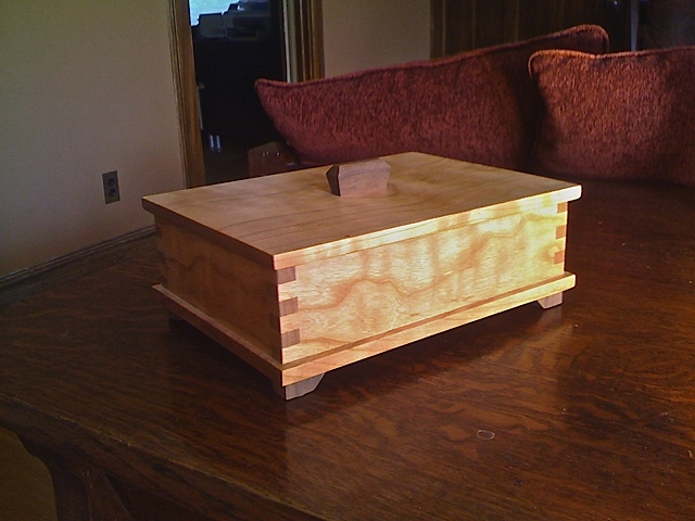 Cherry Keepsake Box