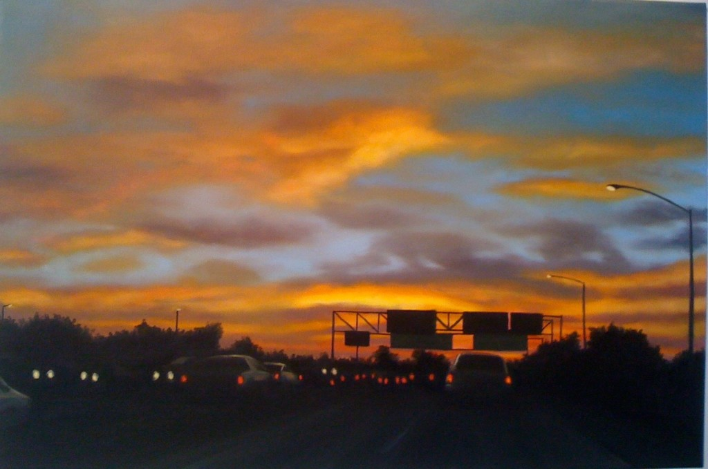 Freeway Sunrise