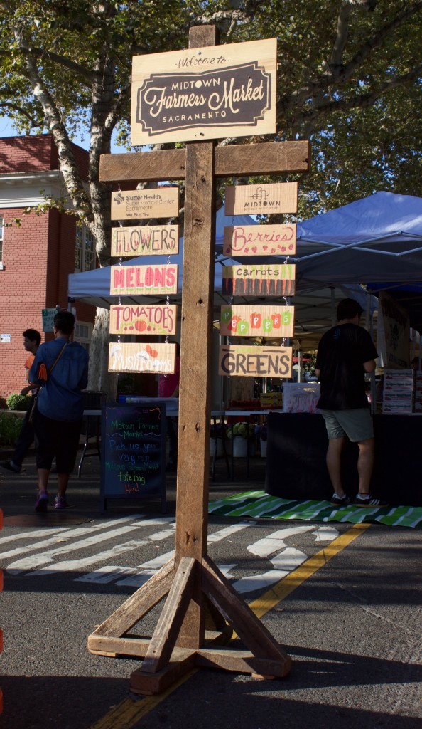 Midtown Farmer's Market Signs