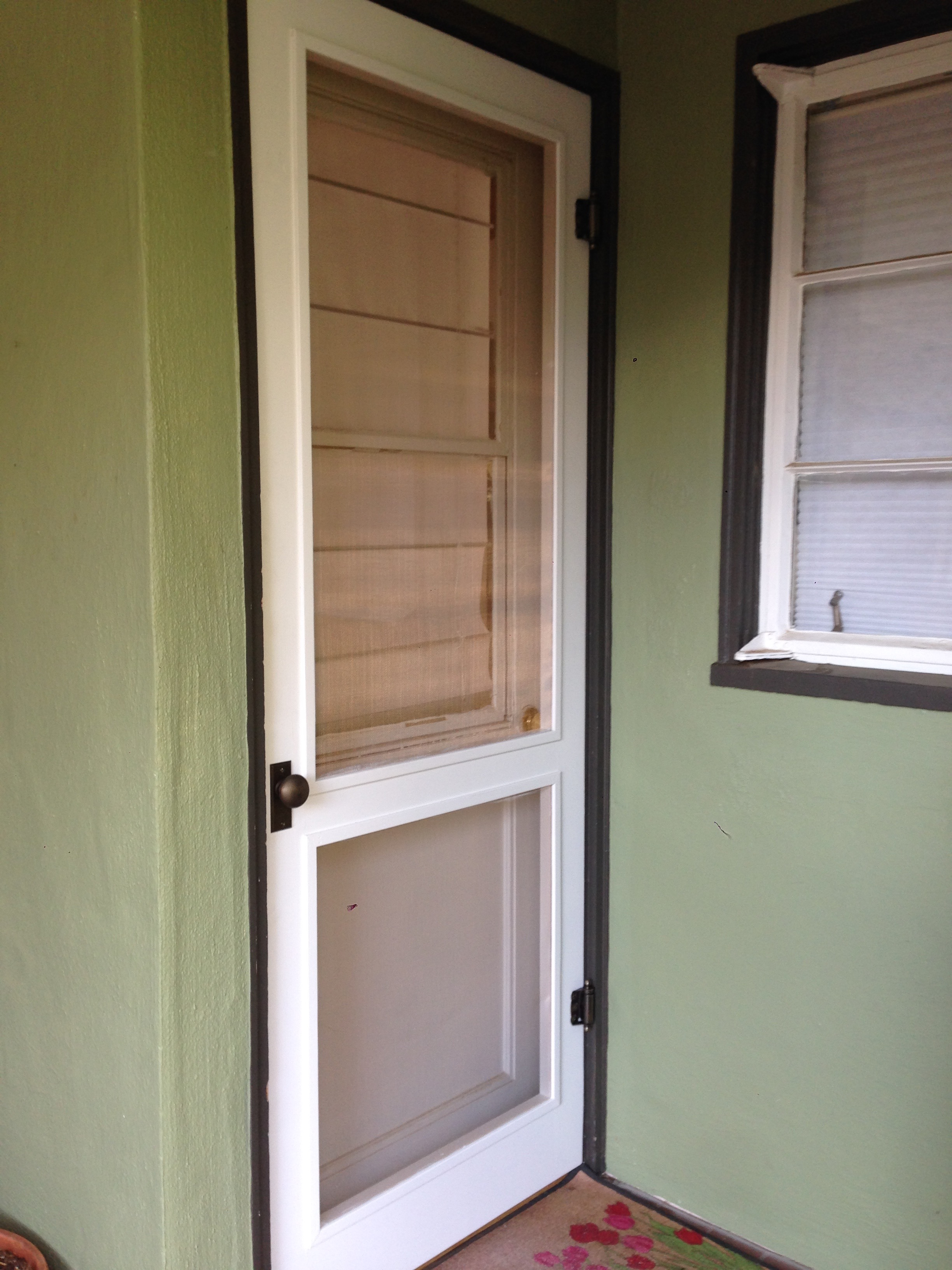 Traditional Wood Screen Doors Tim White