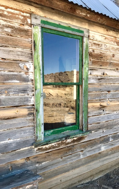 Historic Mining Cabins Windows and Door