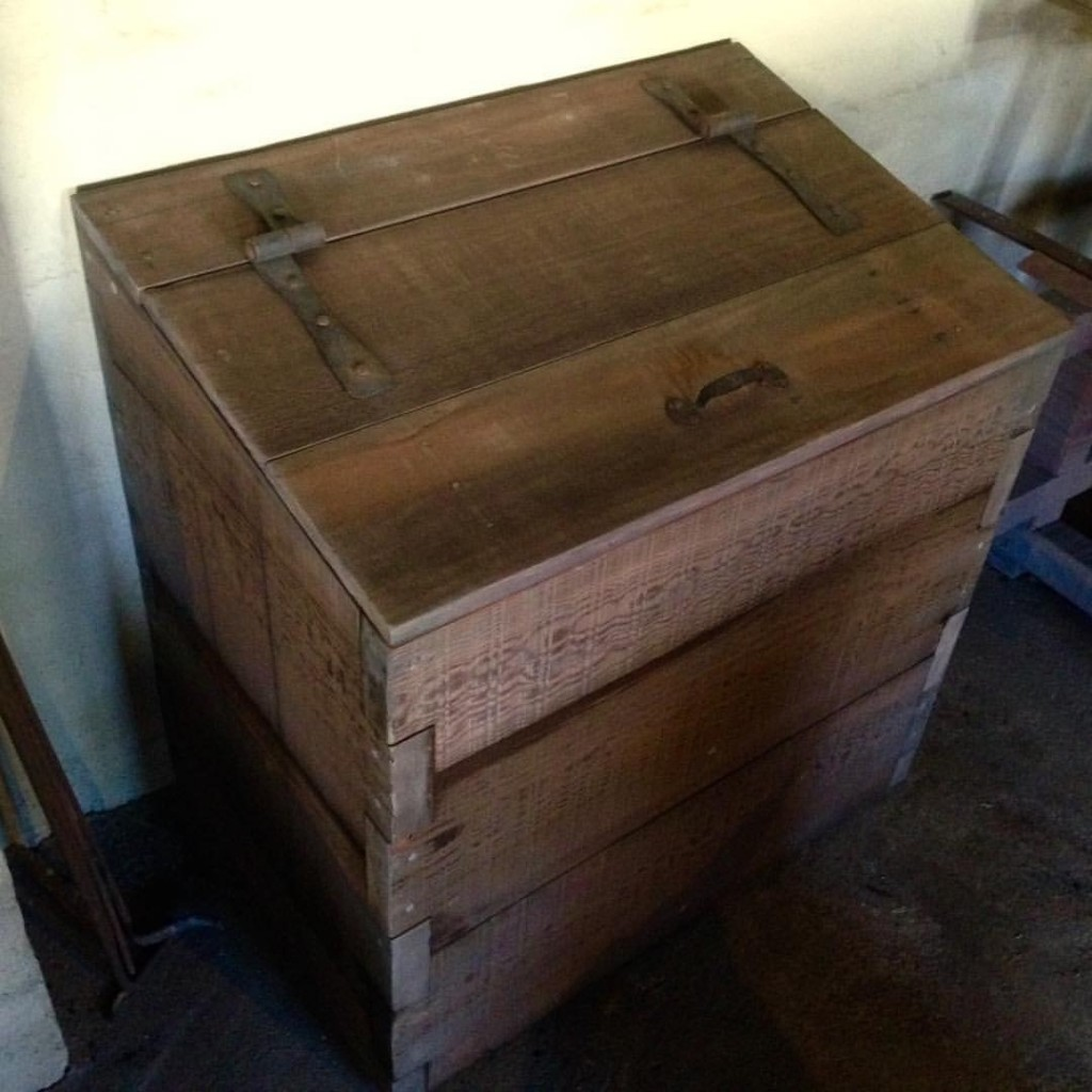 Charcoal Bin For Sutter's Fort State Historic Park Blacksmith Shop